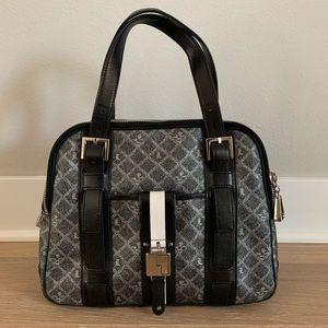 L.A.M.B Oxford purse - Black and Grey